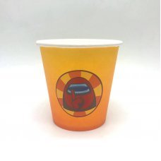 Бумажные стаканы Амонг Ас Among Us оранж - 6 шт.