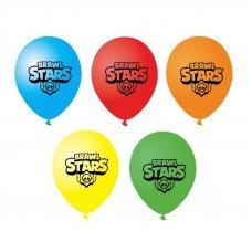 Набор из 5 воздушных шаров Brawl Stars 30 см