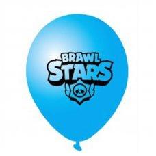 Воздушные шары Brawl Stars 30 см синий