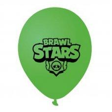 Воздушные шары Brawl Stars 30 см зеленый