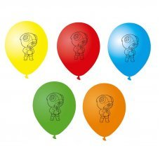 Набор из 5 воздушных шаров Леон Leon Brawl Stars 30 см