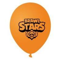 Воздушные шары Brawl Stars 30 см оранжевый