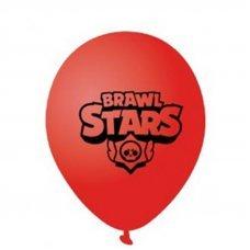 Воздушные шары Brawl Stars 30 см красный