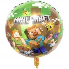 "Воздушный шар ""Стив и Алекс"" Minecraft"