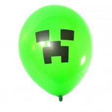 """Воздушные шары Майнкрафт 25 см """"Крипер"""""""
