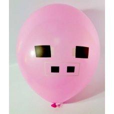 """Воздушные шары Майнкрафт 25 см """"Свинья"""""""
