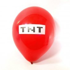 """Воздушные шары Майнкрафт 25 см """"TNT"""""""