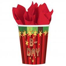 """Бумажные стаканы Minecraft """"TNT Party B-Day"""" - 8 шт."""